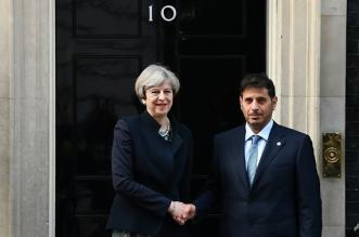 britain-s-prime-minster-theresa-may-greets-qatar-s-prime-minister-abdullah-bin-nasser-bin---3629934