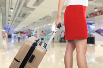 female-skirt-airport