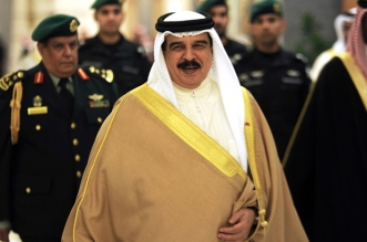"Bahrain's King Hamad bin Issa al-Khalifa attends a Gulf Cooperation Council (GCC) informal summit in the Saudi Red Sea city of Jeddah on May 31, 2016. Gulf Arab states grappling with lower oil revenues on Tuesday formed a new agency to tighten economic cooperation in the region. The Economic and Development Affairs Authority ""will boost coherence, integration and coordination between member states in all economic and development sectors,"" the Gulf Cooperation Council said in a statement after a summit in Jeddah, Saudi Arabia. / AFP PHOTO / STRINGER"